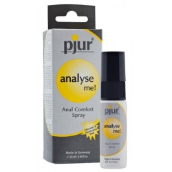 Analyse me spray glijmiddel...