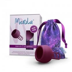 Menstruatiecup galaxy paars...